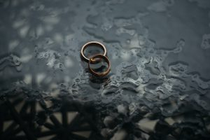two rings from a couple