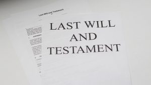 last will testament london